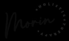 Morin Holistic Therapy horizontal black logo | morinholistictherapy.com